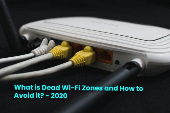 Dead Wi-Fi Zones