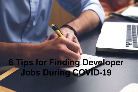 Tips for Finding Developer Jobs