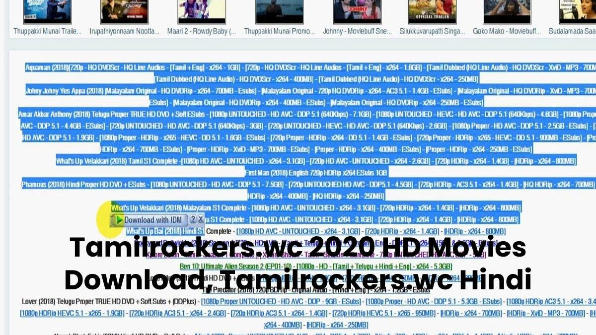 Tamilrockers 2020 HD Movies Download, Tamilrockers Hindi ,Tamil, Telugu, Malayalam Movies Download, Tamilrockers Tamil Dubbed Movie Download is Illegal – tamilrockers.wc , www.tamilrockers.wc , www.tamilrockers .com , tamil rockers.com , tamilrockers telugu , www.tamilrockers , tamilrockers , tamilrockers.co , www.tamilrockers.com