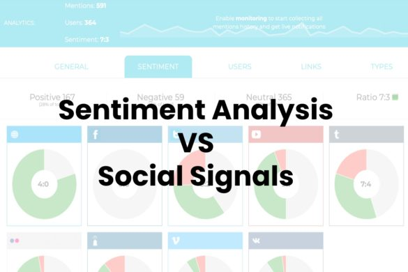 Sentiment Analysis VS Social Signals
