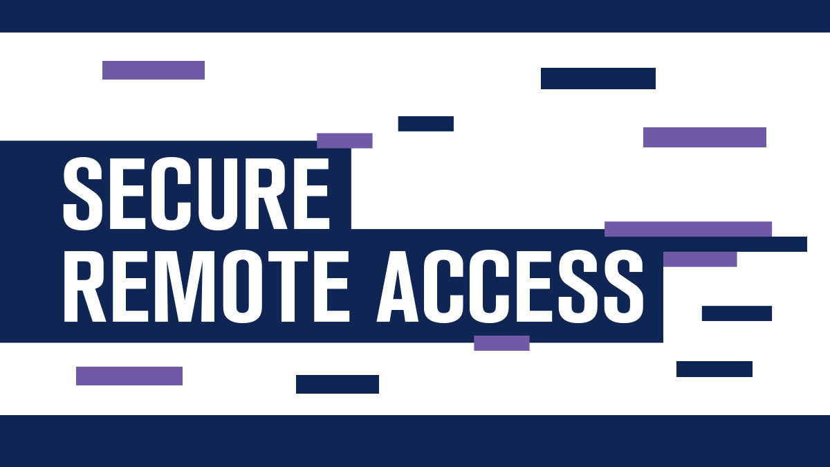What is Secured Remote Access?